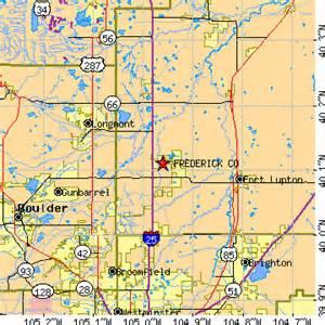 frederick colorado map frederick colorado co population data races housing