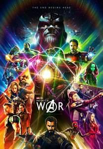 Infinity War Marvel Fan Made Infinity War Poster Marvelstudios