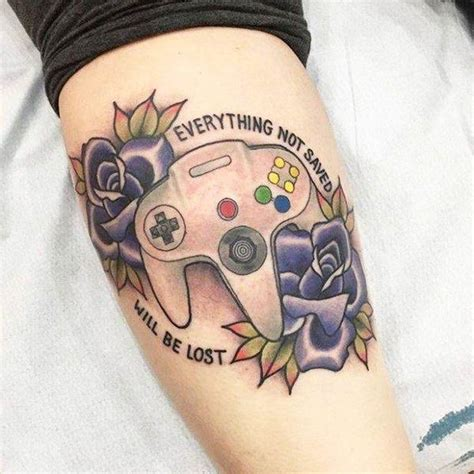 gamer tattoo best 25 gamer tattoos ideas only on gaming