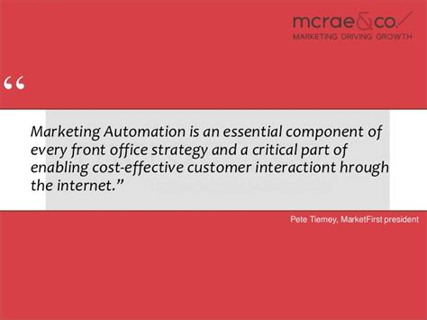 marketing automation quotes and testimonials