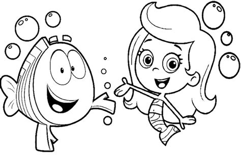 Bubble Guppies Coloring Pages Top Coloring Pages Guppies Coloring Pages