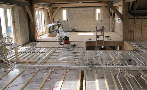 underfloor heating and floors homebuilding renovating