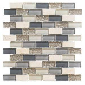 home depot kitchen tiles backsplash jeffrey court cedar cove 12 in x 12 in x 8 mm glass