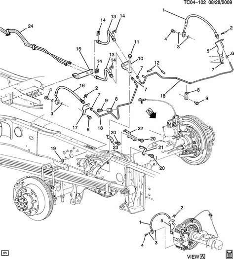 2000 silverado brake line diagram 2000 chevy silverado brake lines autos post