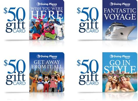 Best Place For Gift Cards - gift cards going places travel