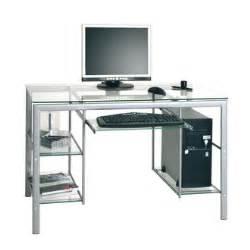 table pour ordinateur en verre table rabattable cuisine meuble en verre pour