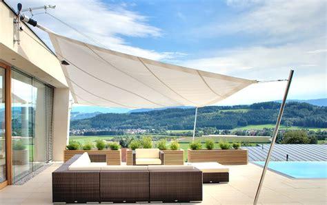 Sonnensegel Am Haus by Sonnensegel F 252 R Terrasse Und Balkon Sch 214 Ner Wohnen
