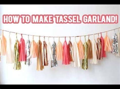 How To Make Paper Tassel Garland - 83 best images about senior pic ideas graduation on