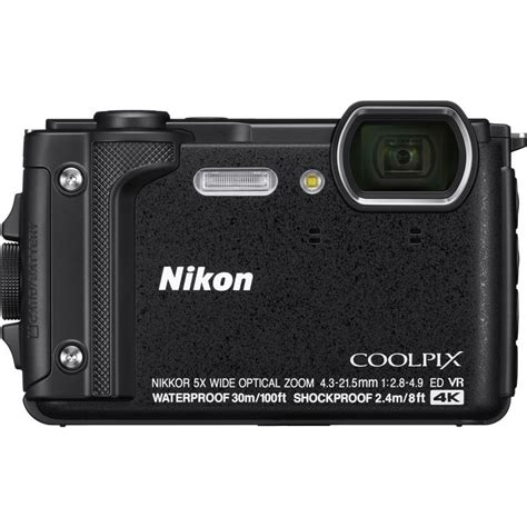 brand new nikon coolpix w300 digital black ebay