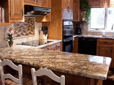 granite kitchen countertops ideas betularie granite countertop kitchen design ideas