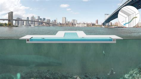 fliese new york pool new york schwimmbad im east river soll flusswasser