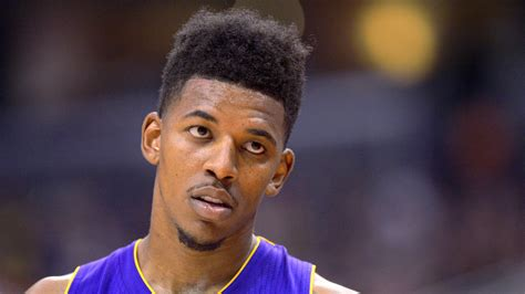 whst id the swaggy p haircut nick young of los angeles lakers says house robbed of
