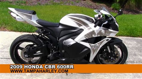 used honda cbr600rr for sale used 2009 honda cbr600rr sportbike for sale youtube