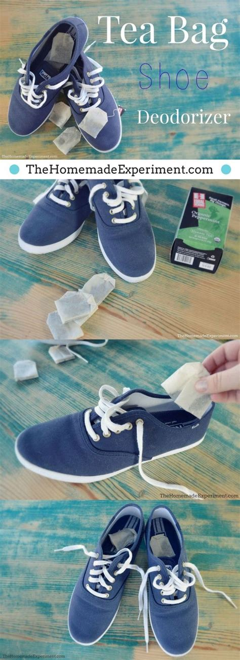 diy shoe deodorizer shoe deodorizer with tea bags foot odor