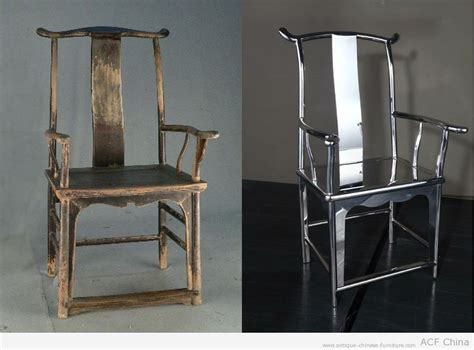 Classic Chinese Style Contemporary Stainless Steel Modern Asian Furniture