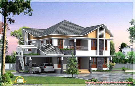 home design beautiful kerala style house elevations