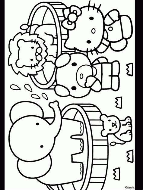 100 coloring pages of hello kitty hello kitty color pages coloring home
