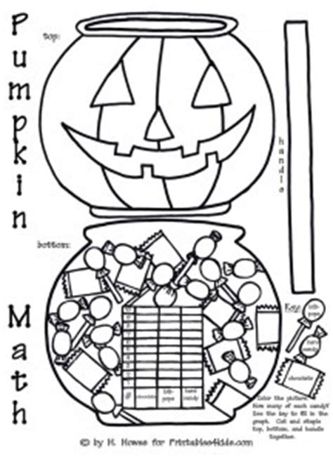 halloween coloring pages math halloween pumpkin trick or treat math graph activity