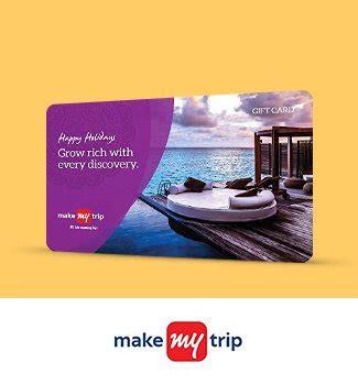 Makemytrip Gift Card Balance - gift cards vouchers online buy gift vouchers e gift cards online in india
