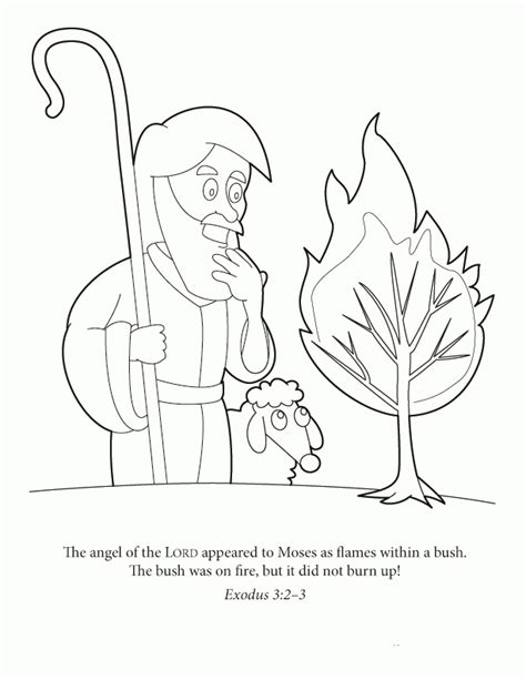 burning house coloring page burning bush coloring page coloring home