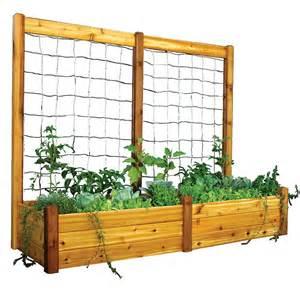 raised bed tomato trellis raised garden bed trellis kit at wayside gardens
