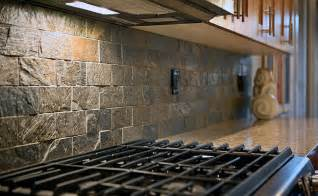 Stone Kitchen Backsplashes subway quartzite slate backsplash tile idea backsplash com