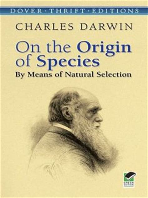 on the origin of species by means of selection or the preservation of favored races in the struggle for classic reprint books on the origin of species by means of selection by