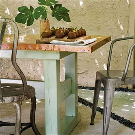 Copper Patio Table by 1000 Images About Garden Table On Garden