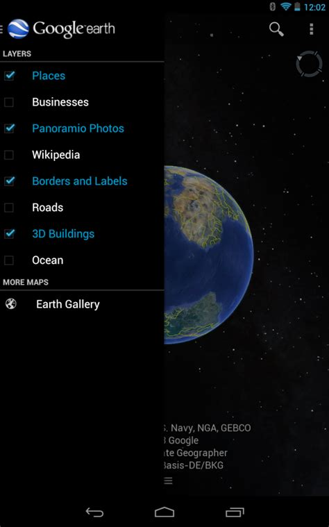 earth android earth para android