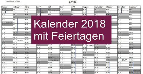 Kalender 2018 Zum Ausdrucken Mit Feiertagen Bayern Kalender 2018 Mit Feiertagen Freeware De