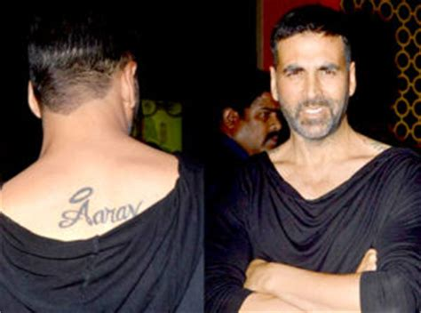 tattoo name akshay top 15 bollywood celebrities and their adorable tattoos