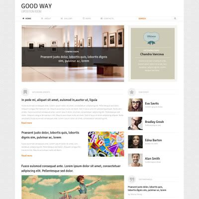 theme wordpress art gallery premium art gallery wordpress themes templatemonster