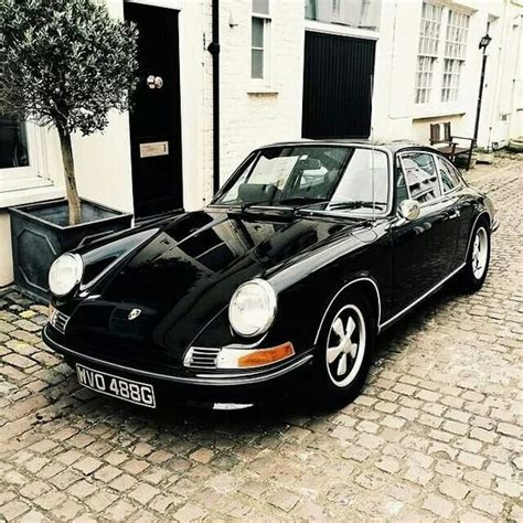 old porsche black hannah shelby
