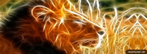 neon lion facebook cover fbcoverlovercom