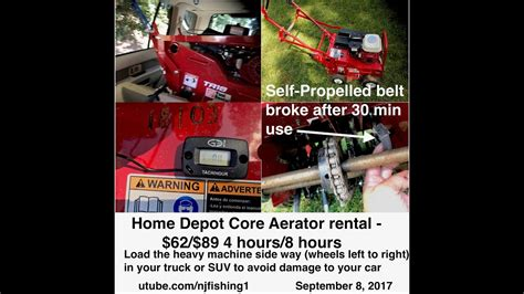 home depot aerator rental home depot newest aerator rental tips 1 of 2