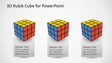 cube powerpoint template 3d rubik cube powerpoint template slidemodel