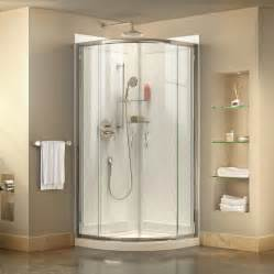 Shower Stall Systems Shop Dreamline Prime White Acrylic Wall And Floor 3