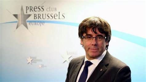puigdemont en bruselas puigdemont comparece en bruselas