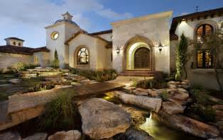 spanish oaks hacienda mediterranean exterior austin contemporary fireplace mantel ideas spanish style home