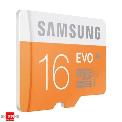 Memory Card Samsung Evo Class 10 16gb Samsung 16gb Evo Uhs I Micro Sdhc Memory Card Grade 1
