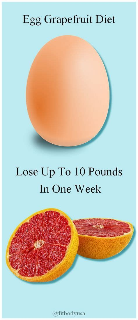 Eggs On A Detox Diet by 25 Best Ideas About Egg And Grapefruit Diet On