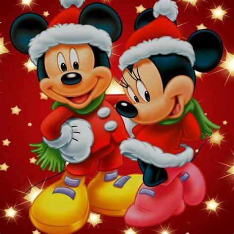 imagenes navideñas animadas de mickey mouse feliz navidad flores pinterest disney mickey minnie