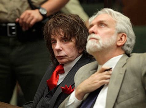 Phil Spectors Only Friends Are His Attorneys by Producer Phil Spector Must Serve 19 Years The