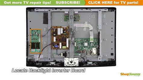 Kabel Konektor Board Tv Lg H8302 lcd tv repair tutorial how to replace the backlight