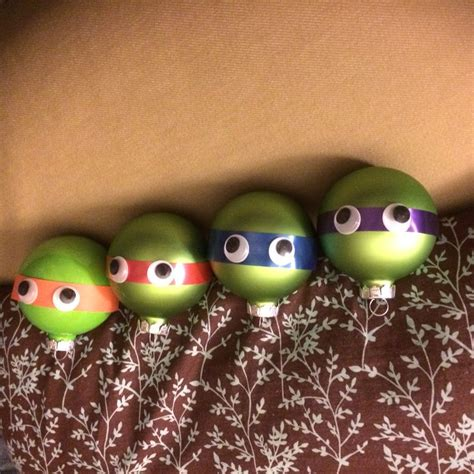 our christmas craft tmntornament for the boys pinterest