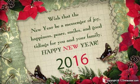 new year 2016 greetings messages new year messages
