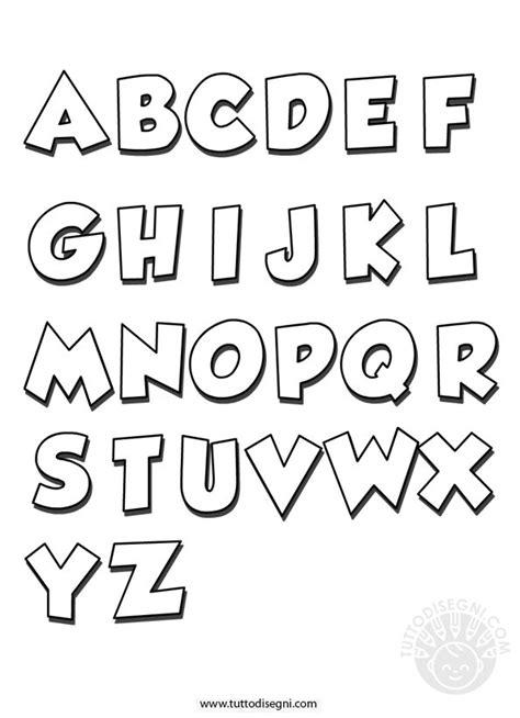 immagini lettere alfabeto da colorare tuttodisegni