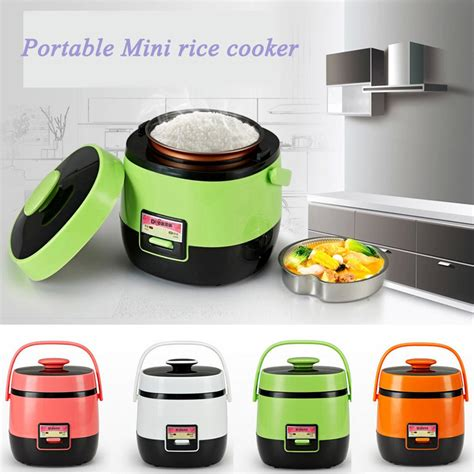 Mini Rice Cooker Portable new arrival 1 2l mini rice cooker multifunctional electric