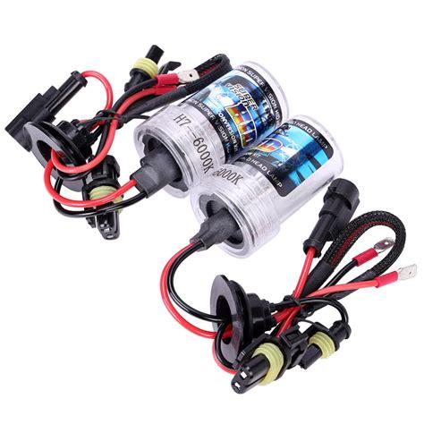 Lu Hid 55 Watt kit hid xenon h7 55w 6000k car auto headlight light h7