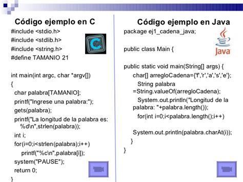 arreglos y cadenas en java programaci 243 n ii estructuras de control de flujo